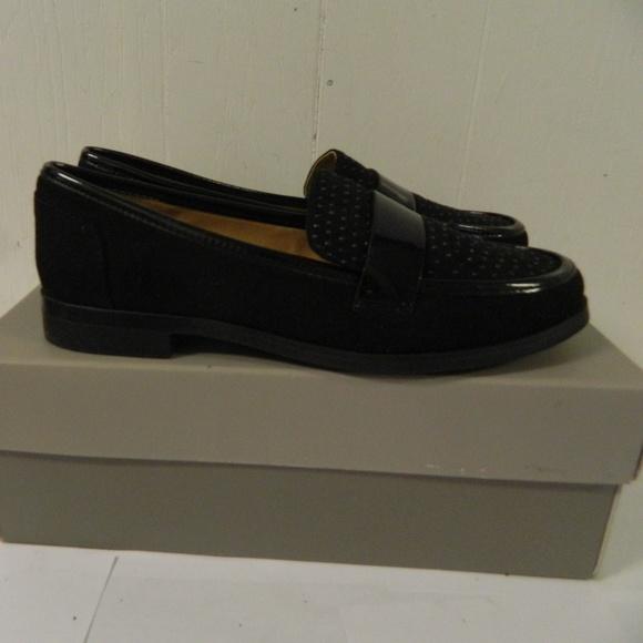 f5b112657af Franco Sarto L-Valera Black Loafer sz 6M NIB